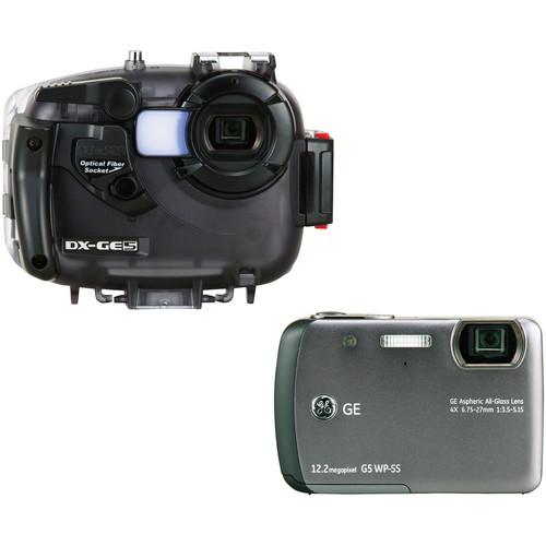 Sea & Sea DX-GE5 Underwater Digital Camera & Housing