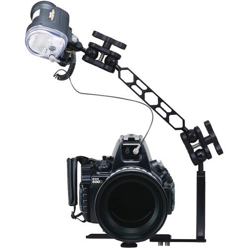 Sea & Sea RDX-600D Housing/Port/SA8 Sea Arm Set/YS-01 Strobe/Fiber Optic Cable