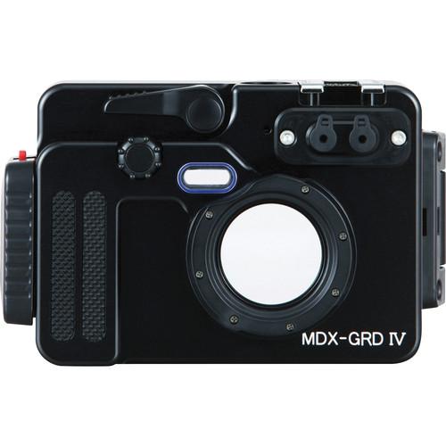 Sea & Sea MDX-GRD IV Underwater Housing for Ricoh GR DIGITAL IV / Digital lll Camera