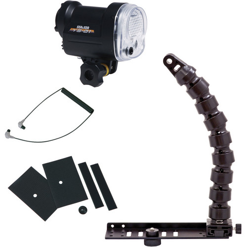 Sea & Sea YS-01 Strobe Lighting Package with Flex Arm and Tray