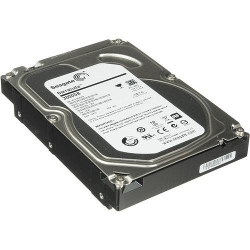 """Seagate 3TB 7200 rpm SATA III 3.5"""" Internal Hard Drive (OEM)"""