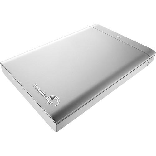 Seagate 1TB Backup Plus Portable Drive for Mac (Silver/White)