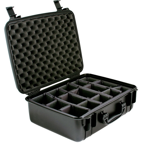 Seahorse 720D Case with Divider Inserts (Black)