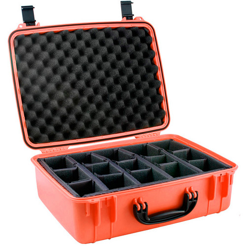 Seahorse 720D Case with Divider Inserts (International Orange)