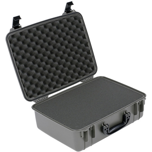 Seahorse 720F Laptop Computer Case With Cubed Foam (Gunmetal Gray)