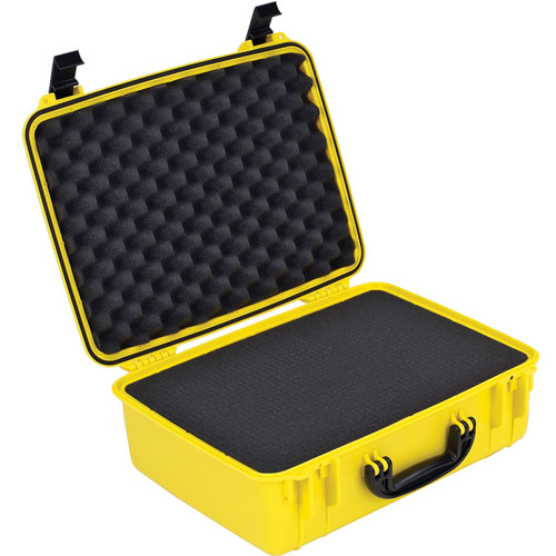 Seahorse 720F Laptop Computer Case With Cubed Foam (Safety Yellow)