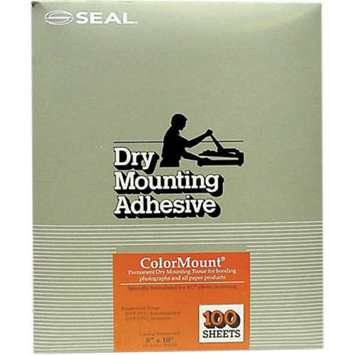 "D&K Colormount Dry Mounting Tissue - 8 x 10"" - 100 Sheets"