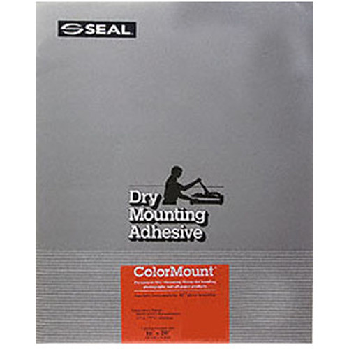 """D&K Colormount Dry Mounting Tissue - 16 x 20"""" - 100 Sheets"""