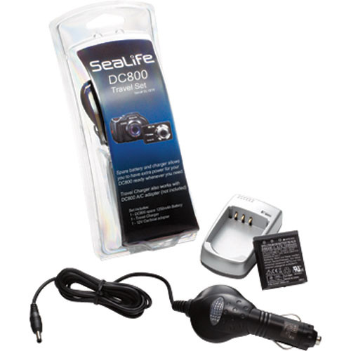 SeaLife Travel Charger Kit SL1816 for DC800