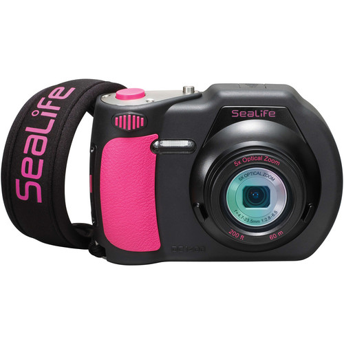 SeaLife DC1400 Underwater Digital Camera (Pink / Black)