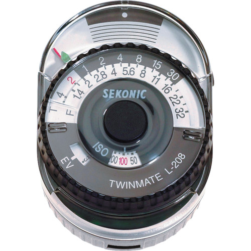 Sekonic L-208 Twin Mate - Analog Incident and Reflected Light Meter