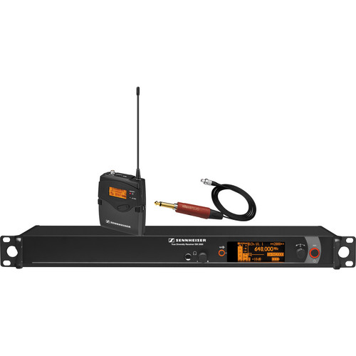 Sennheiser 1-Channel Wireless Instrument System (B / 626 - 698 MHz)