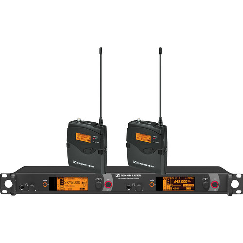 Sennheiser Dual Channel Wireless Monitoring System