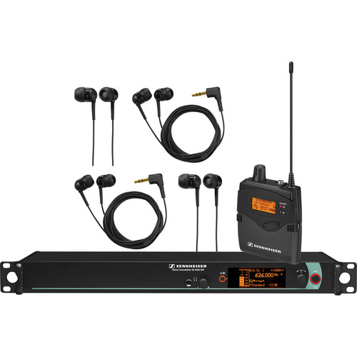 Sennheiser Single Channel Stereo IEM System B (626 - 668 MHz)
