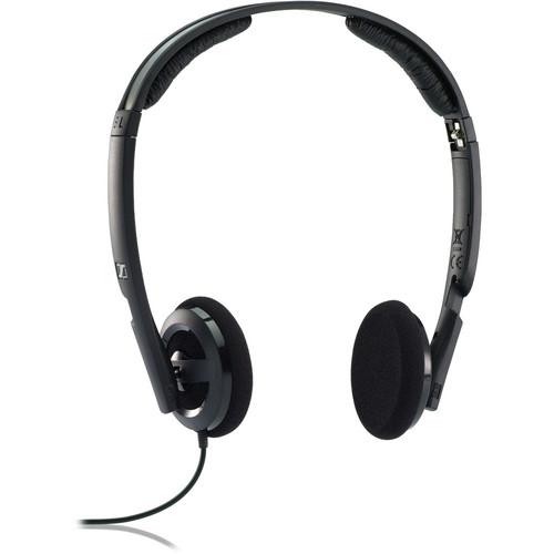 sennheiser px 100 ii on ear stereo headphones black 502816 b h. Black Bedroom Furniture Sets. Home Design Ideas
