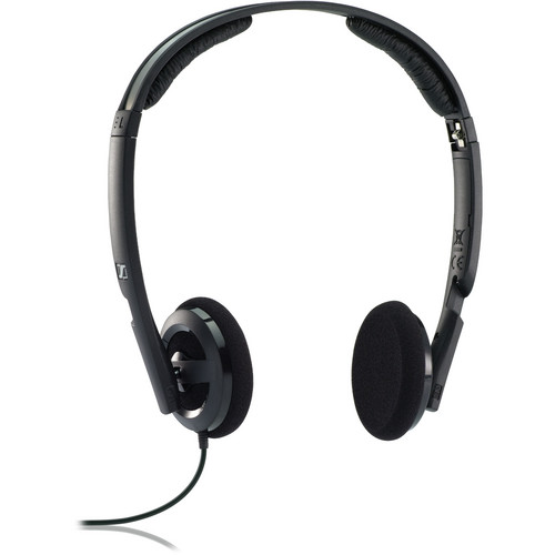 Sennheiser PX 100-II On-Ear Stereo Headphones (Black)