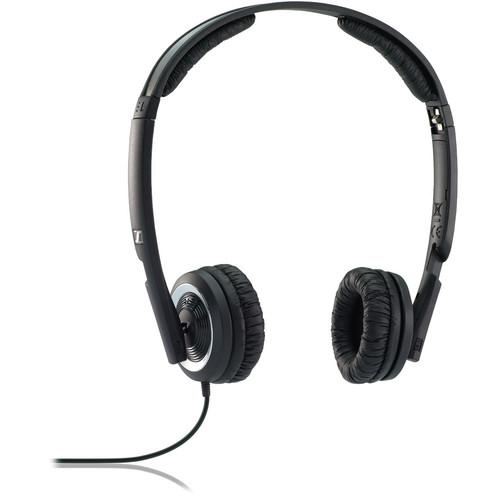 Sennheiser PX 200-II On-Ear Stereo Headphones (Black)