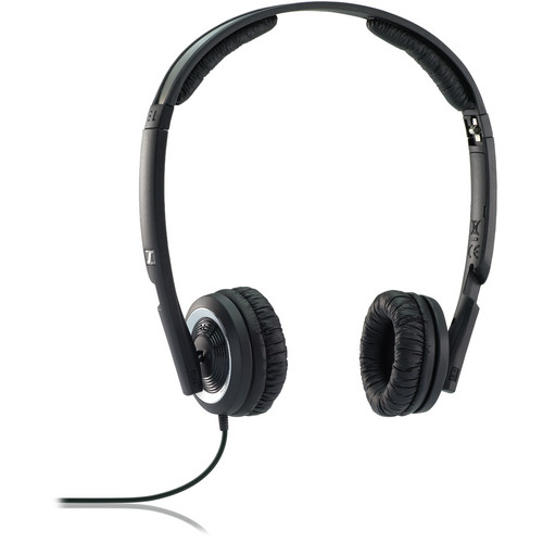 Sennheiser PX 200-II On-Ear Stereo Headphones (Black)
