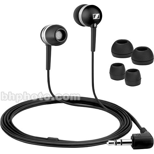 Sennheiser CX300 - Portable Stereo In-Ear Headphones - Black