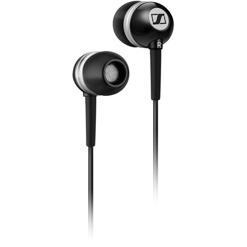Sennheiser CX 300-II Portable Stereo In-Ear Headphones (Precision Black)