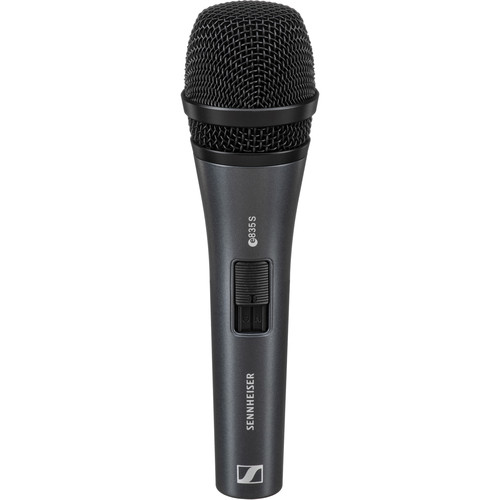Sennheiser e835S Handheld Cardioid Dynamic Microphone with On/Off Switch