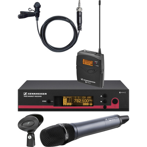 Sennheiser ew 112 / 135 G3 Wireless Contractor Combo Kit - Frequency B (626-668 MHz)