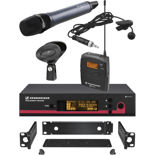 Sennheiser ew 122 / 135 G3 Wireless Contractor Combo Kit - Frequency G (566-608 MHz)