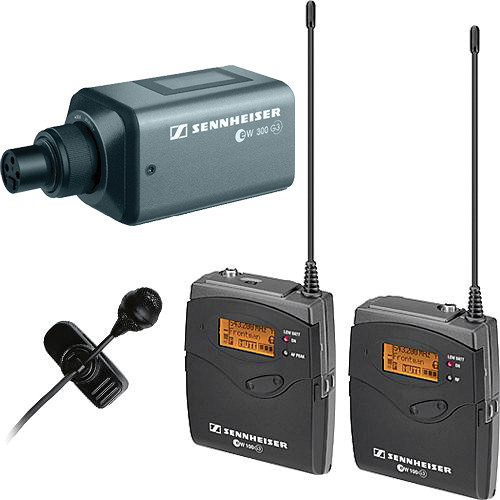 Sennheiser ew 122-p G3/SKP 300 G3 Wireless Microphone Kit - A (516-558 MHz)