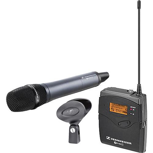 Sennheiser ew 135-p G3 Camera Mount Wireless Microphone System with 835 Handheld Mic - G (566-608 MHz)