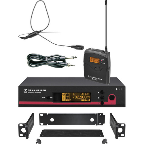 Sennheiser ew 172 G3 Wireless Instrument & Earset System with GA3 Rackmount Kit (Black) - A (516-558 MHz)