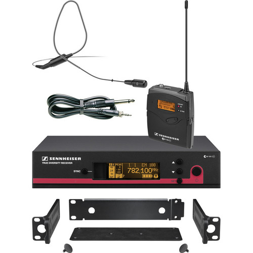 Sennheiser ew 172 G3 Wireless Instrument & Earset System with GA3 Rackmount Kit (Black) - G (566-608 MHz)