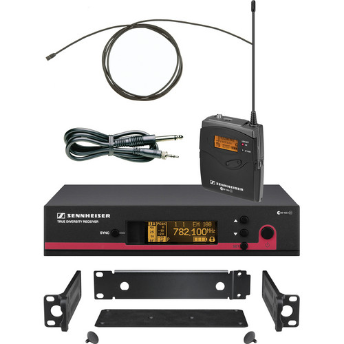 Sennheiser EW172 G3 Wireless Instrument System with GA3 Rackmount Kit (G / 566 - 608MHz)