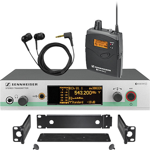 Sennheiser ew 300 IEM G3 Wireless In-Ear Monitoring System (G - 566-608MHz)