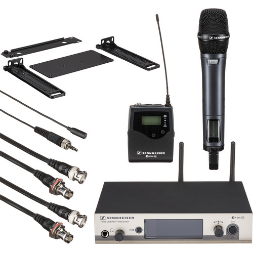 Sennheiser EW312/335 G3 Wireless System with Handheld and Lavalier Microphones (A: 516-558MHz)