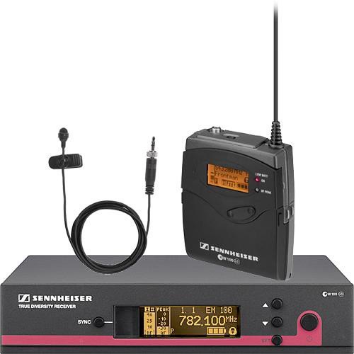Sennheiser ew 110 G3 LE Wireless Bodypack Microphone System with ME2 Lavalier Mic - A2 (518-554 MHz)