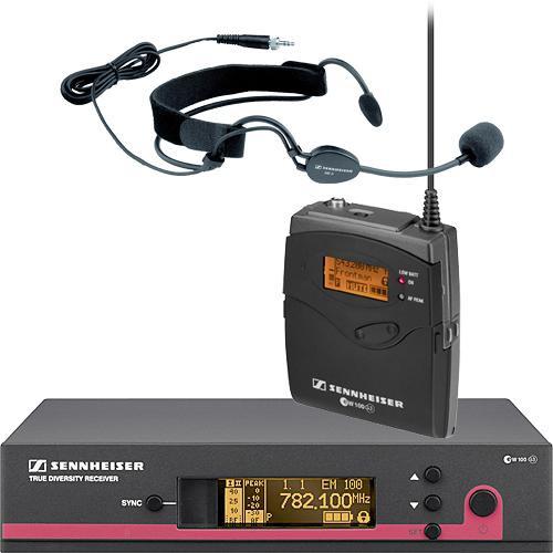 Sennheiser EW152 G3 Wireless Bodypack Microphone System with ME3 Headset Mic (B: 626 - 668MHz)