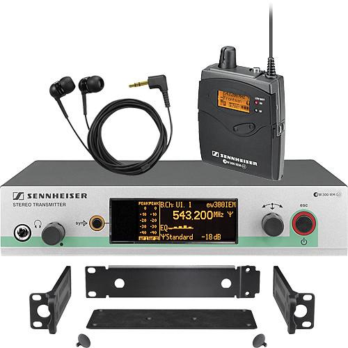 Sennheiser ew 300 IEM G3 Wireless In-Ear Monitoring System (B - 626-668MHz)