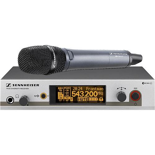 Sennheiser EW345 G3 Wireless Handheld Microphone System with 845 Mic (Frequency B / 626 - 668 MHz)