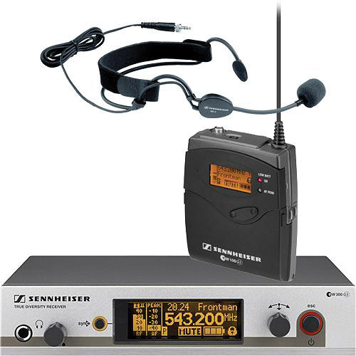 Sennheiser EW352 G3 Wireless Bodypack Microphone System with ME3 Headset Mic (G / 566 - 608MHz)