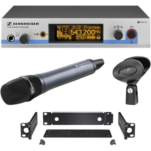 Sennheiser EW500-945 G3 Wireless Handheld Microphone System with E945 Mic (Frequency G: 566 to 608 MHz)