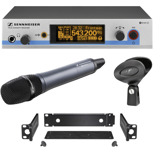 Sennheiser EW500-965 G3 Wireless Handheld Microphone System with E965 Mic (Frequency B: 626 to 668 MHz)