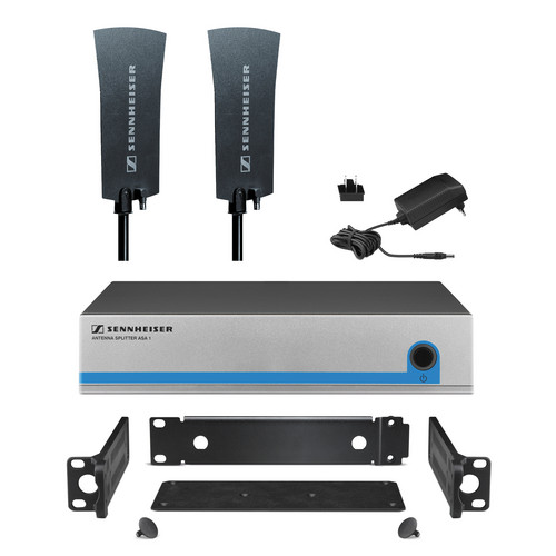 Sennheiser G3OMNIKIT4 Active Splitter Kit for 4 Receivers