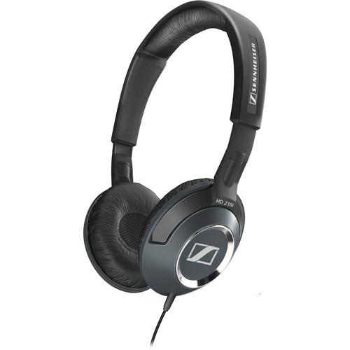 Sennheiser HD 218i On-Ear Stereo Headphones with Mic/Remote