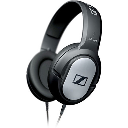 Sennheiser HD 201 - Circumaural Closed-Back Dynamic Stereo Headphones