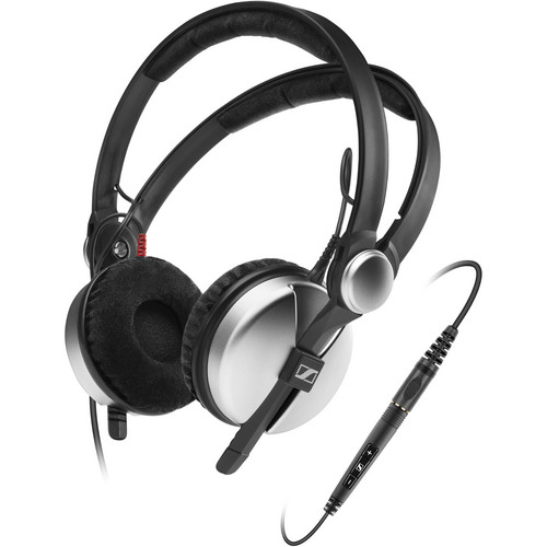 Sennheiser Amperior On-Ear Stereo Headphones with Mic/Remote (Silver)