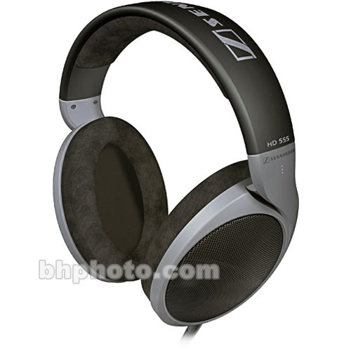 Sennheiser HD 555 - Circumaural Open-Back Hi-Fi Stereo Headphones