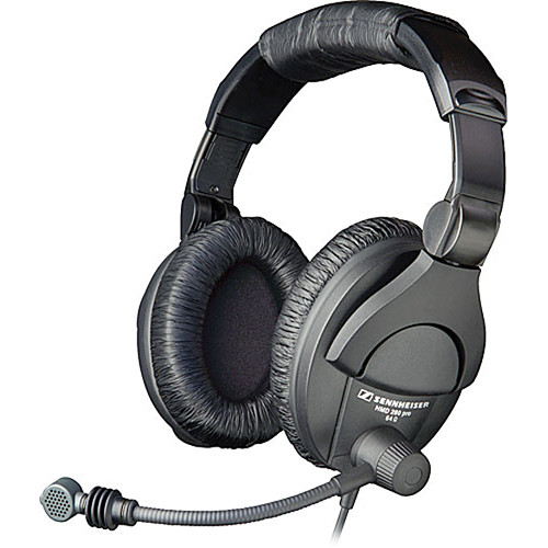 sennheiser hmd 280 pro headset with supercardioid boom 004976. Black Bedroom Furniture Sets. Home Design Ideas