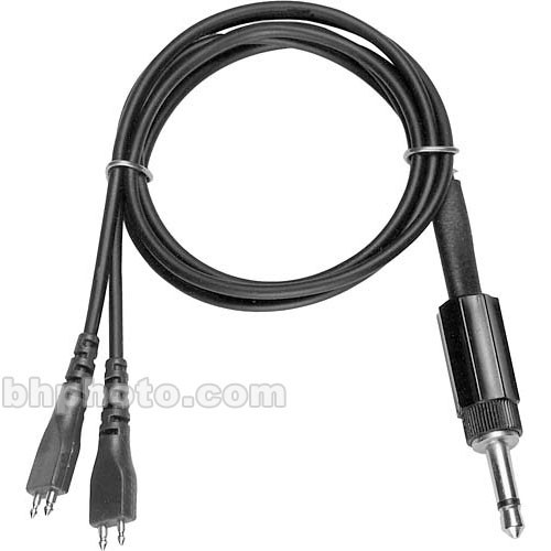 Sennheiser HZL326 - Binaural Inductive Audio Adapter Cable from EZI 120 to RI 250 Stethoset - 6'
