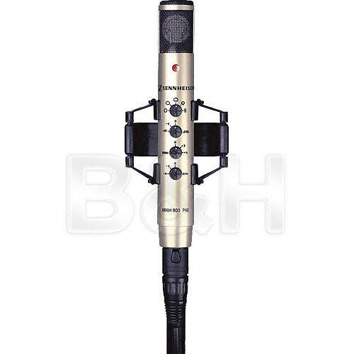 Sennheiser MKH 800 P48 Studio Condenser Multi-Pattern Microphone