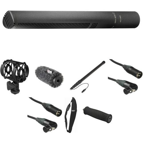 Sennheiser MKH 8060 Moisture-Resistant Short Shotgun Microphone Deluxe Location Recording Kit